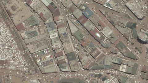 Earth Zoom In Zoom Out Kampala Uganda Live Action