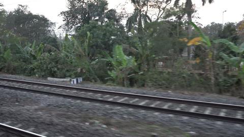 Footage of Indian railway track 영상물
