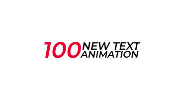 100 New Text Animation Presets After Effects Animation Preset