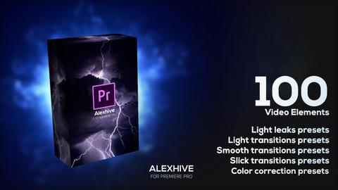 1oo Video Elements Presets Pack Premiere Pro Effect Preset