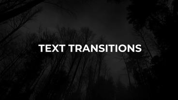 New Text Transitions Presets Premiere Pro Effect Preset