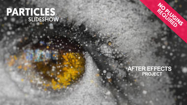 Particles Slideshow After Effects Project