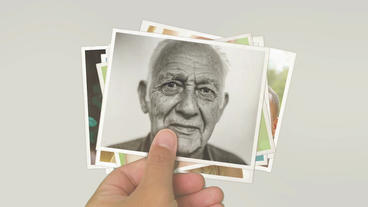 Paper Photo Slideshow 4K After Effects Template