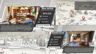 Realtor Business Promo After Effects Project