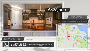 Single Real Estate Promo After Effects Project