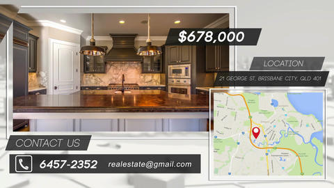 Single Real Estate Promo After Effects Template