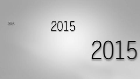 New Year 2017 - Grey Animation