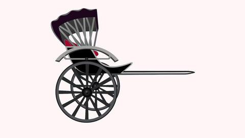 Rickshaw animation Animation