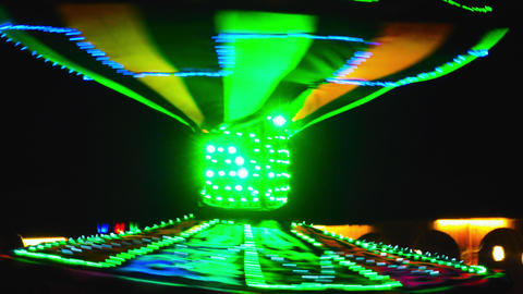 Dancer performing in led costume 영상물