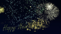 Happy New Year Firework Animation Animation