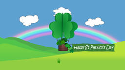 St Patricks day animation Animation