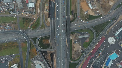 Interchange at the Moscow Ring Road 영상물