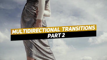 Multidirectional Transitions Part 2 Premiere Pro Template