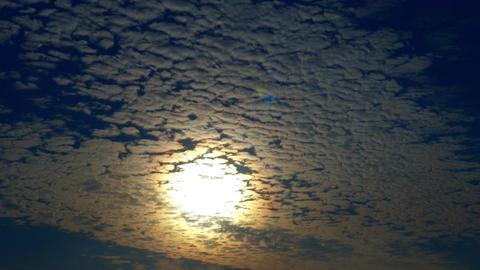 Clouds Through Sun Footage