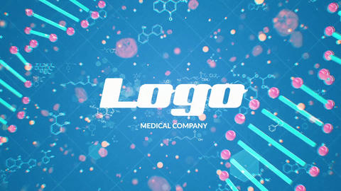DNA Logo Reveal After Effects Template
