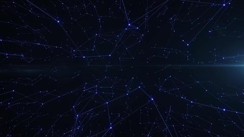 Plexus Digital Network Stock Video Footage