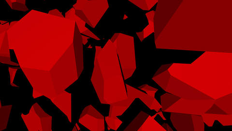 RED-wall 4K Animation