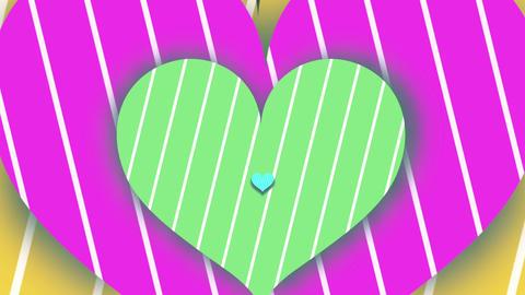 Heart tunnel Animación