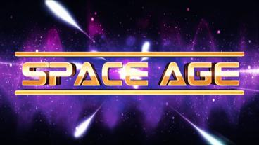 Space Age Title/Logo Reveal After Effects Template