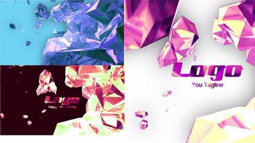 Diamonds Logo Reveal Premiere Pro Template