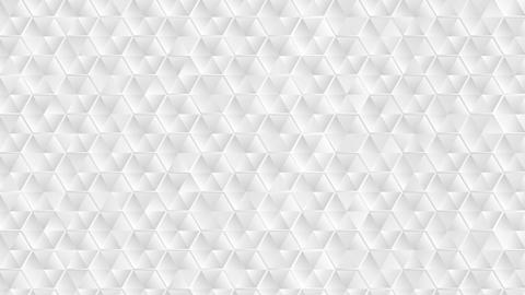 Abstract grey hexagons texture video animation Animation
