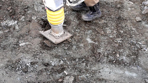 Soil compaction Footage