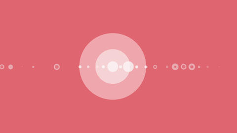 Dots particles circle spin After Effects Template