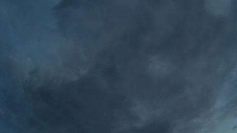 Gray Stormy Clouds GIF