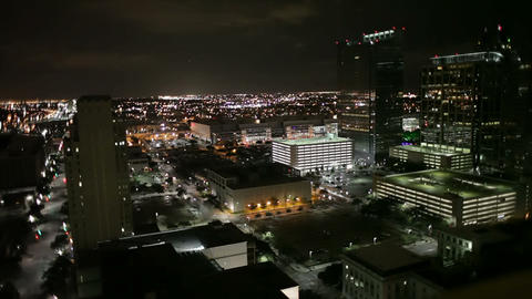 timelapse downtown night life Footage