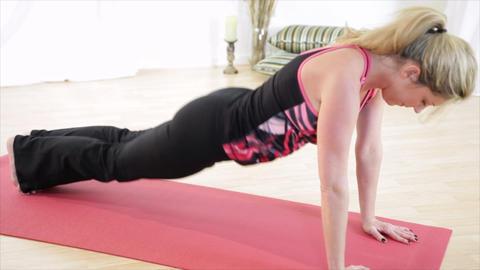Yoga Sun Salutation Footage