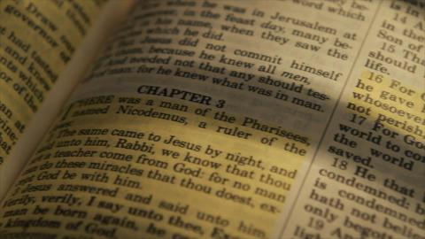 pan john 16 in bible Footage