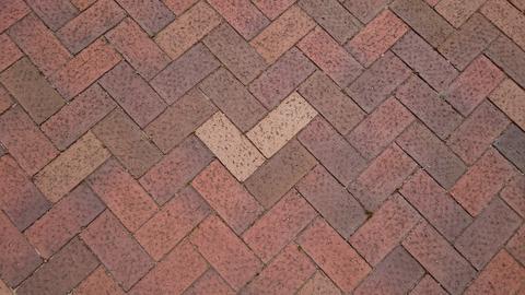 Cobble stone paving Photo