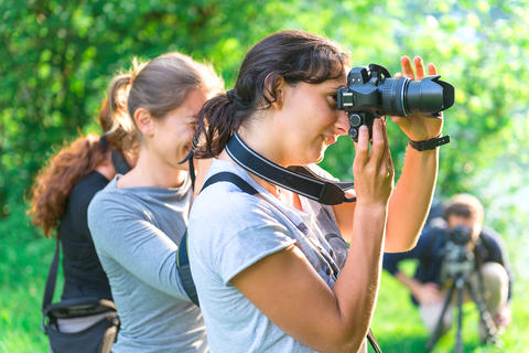 Participants in Photography Course Fotografía