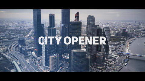 City Urban Opener After Effects Template