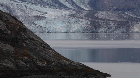 Drone Aerial from Glacier Bay Alaska Archivo