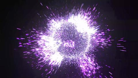 Visual FX Particle Blue Purple 영상물