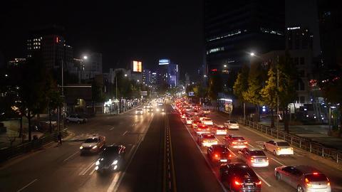 Cityscape seoul Night street 04 Archivo