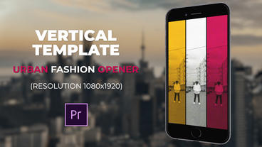 Urban Fashion Opener Premiere Pro Template