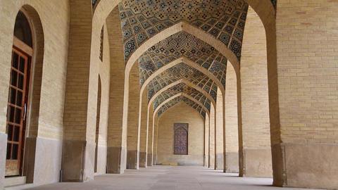 In iran shiraz the corridor passage -0001 Footage