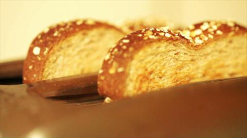 making toast Footage