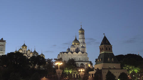 The Ivan The Great Bell Tower Complex Footage