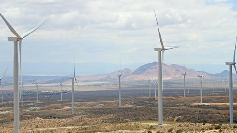 Wind Turbines In California Archivo