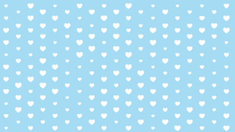 Simple pattern with hearts Animation