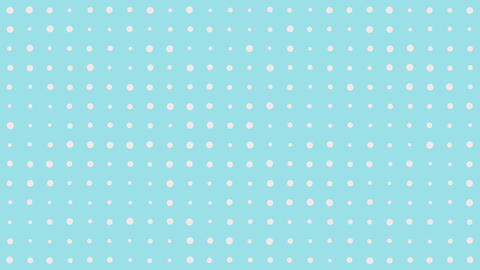 Simple Polka Dot Background Animation