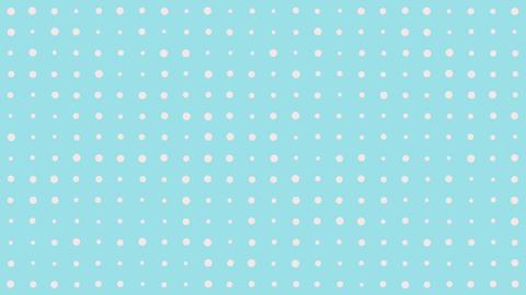 Simple Polka Dot Background CG動画素材