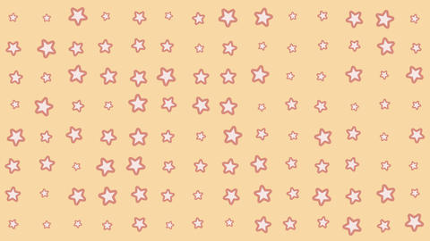 Star shape background picture pattern Animation