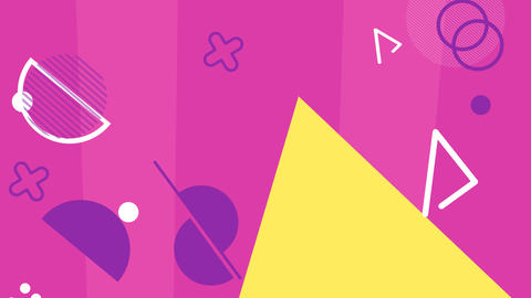 Abstract Shape Loop Animated Color Background GIF