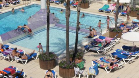 Public Swimming Pool GIF