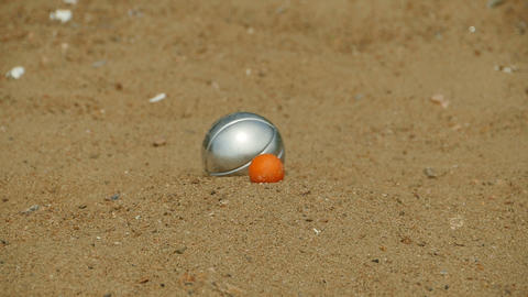 goal in the game petanque 영상물