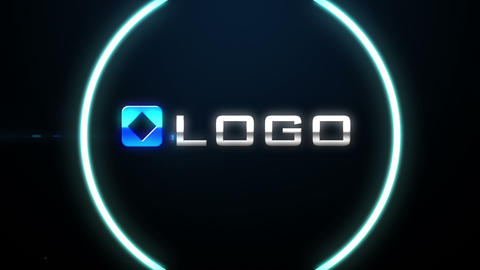 Energetic Glow Light Streaks Light Particles Blast Logo Intro After Effects Template